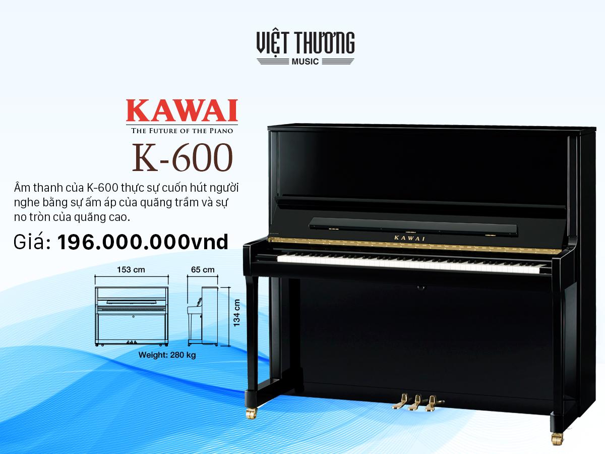 dan piano kawai k 600