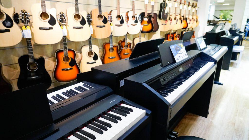 Đàn piano cho học viên luyện thi vào nhạc viện