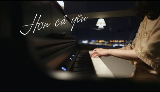 học đàn piano cover