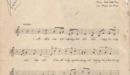Sheet nhạc bài hát trong cuộc tình sâu 1
